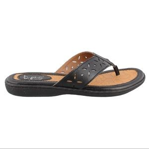 Born B.O.C. | Black Hindy thong Sandals 6M